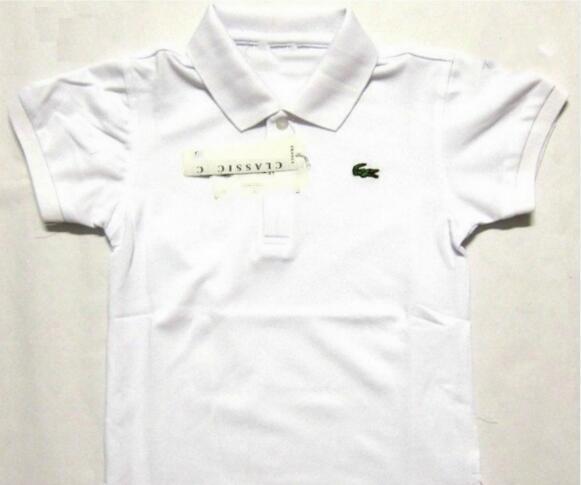 zuomeng3821 / T-shirt do bebê Crocodilo Bordado Meninos Camisa Polo Novo Verão Crianças T-shirt Dos Miúdos Roupas de Designer Crianças Roupas Meninas Tops Tee