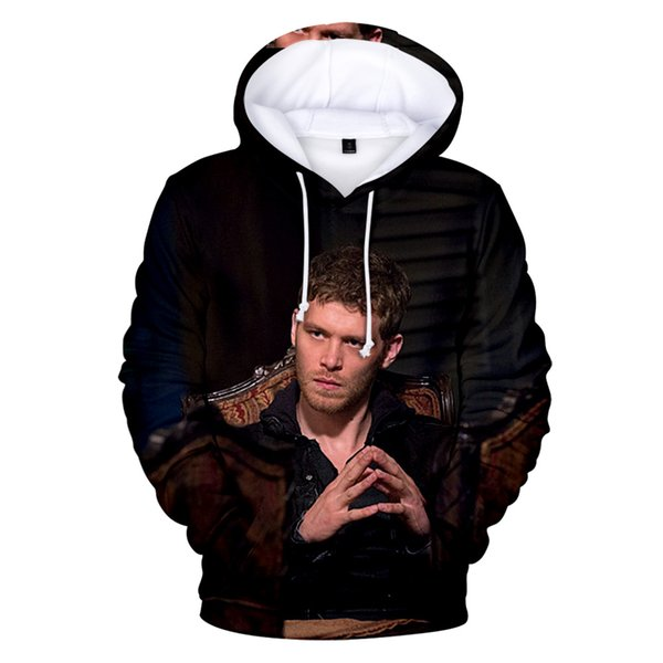 Aikooki New Fashion Niklaus Mikaelson 3D Hoodies Men/Women Casual Popular Hoodie Niklaus Mikaelson Sweatshirt Pullover Hooded