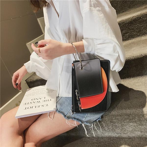 Xiniu Femme À La Mode Coloriage Totes Bag Mini Bandeau Porte-Cartes Porte-Cartes Designer De Luxe Borsa À Tracolla da Donna # 30