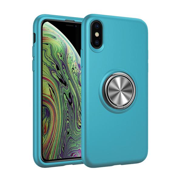 Sıcak Tekerlekler Sıvı Manyetik Halka Tutucu Mobil Shell IÇIN: iPhone 6 7 8 XS XR MAX Samsung Galaxy S8 S9 S10 NOTE9 ARTı