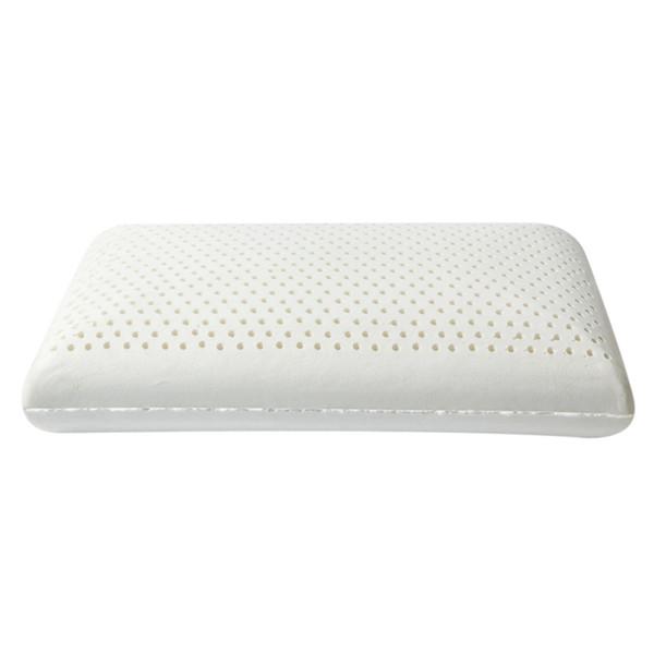 Purenlatex Pillow + Inner Jacket White Latex Rose Pattern Adult Pure Natural Neck Protection Massage Pillow Vertebra Latex Pil