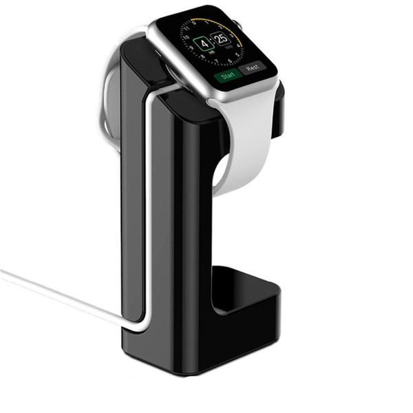 Supporto di ricarica per Apple Watch 42mm / 38mm 44mm 40mm Supporto per stazione di ricarica Dock Station per iWatch 4 3 2 1 Accessori per smart watch