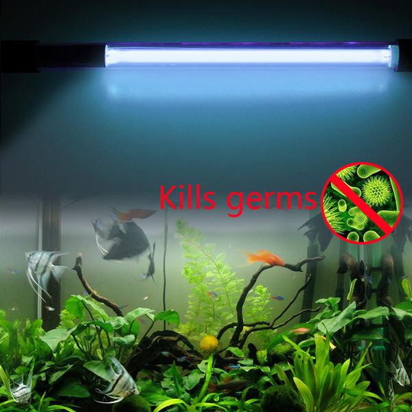 7-11W Submersible Aquarium Pond Fish Tank Light UV Sterilizer Water Clean Lamp