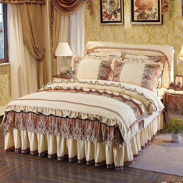 Grosshandel Princess Luxury Bettwasche Set Queen Size Bett Set Fleece