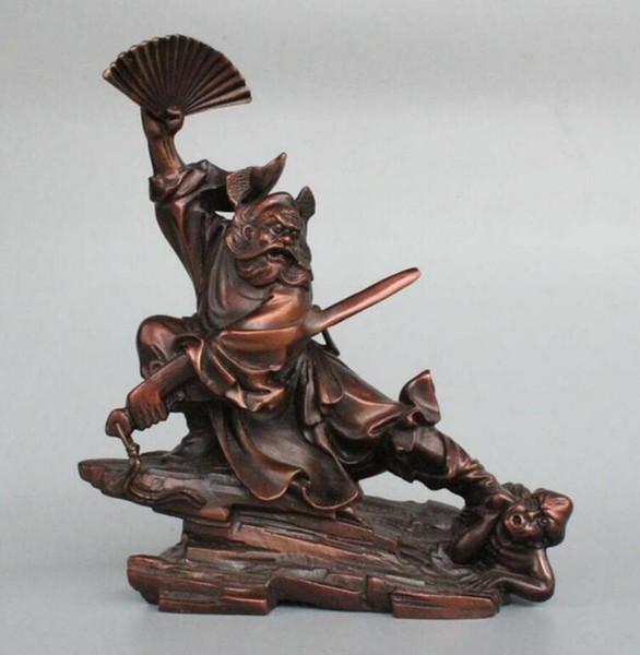 Pure copper Zhong Kui's house to ward off evil spirits, imitate copper, take Fan Zhong Kui to kill demons, remove