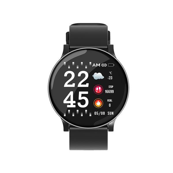 W8 умные часы спортивный фитнес-трекер IP67 водонепроницаемый умные часы работает езда умный браслет погода мода ультратонкий 2.5D закаленное гла