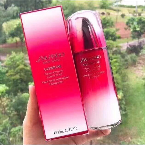 top popular Top Quality !75ML Japan Ginza Tokyo Ultimune Power Infusing Concentrate Activateur Face Essence Skin Care free ship 2021