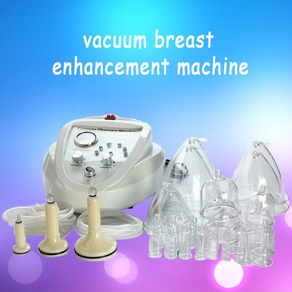 2019 vacuum ma age therapy enlargement pump lifting brea t enhancer ma ager bu t cup body haping beauty machine ce dhl