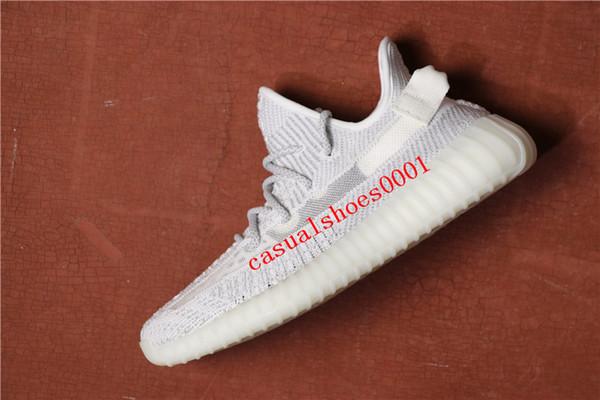 2019 new 350 V2 TRFRM True Form Clay Hyperspace schwarz grau STATIC REFLECTIVE Herren Damen Sportschuhe Kanye West Sport Laufschuhe A015
