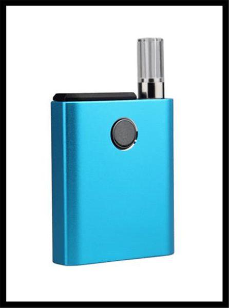 cartuccia co2 mini batteria vape mod compatibile per cialde 2 in 1 dispositivo elettronico per fumatori penna bud mod vaporizzatore preriscaldamento VV smoking