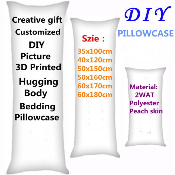 Remarkable 2018 Hot Anime Customized Style Pillow Covers Diy Picture Two Sides Printed Hugging Body Bedding Pillowcase Gifts 2Wt Polyester Y19062103 Pillow Case Gmtry Best Dining Table And Chair Ideas Images Gmtryco