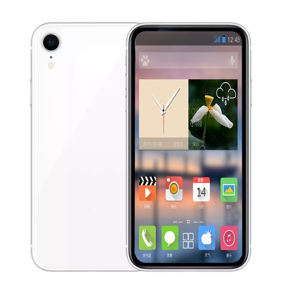 Unlocked Goophone Phone X R 6.1inch 1GB+8GB/16GB Face ID Support Wireless Charger WCDMA Show 4G LTE Bluetooth GPS Dual SIM Mobilephone
