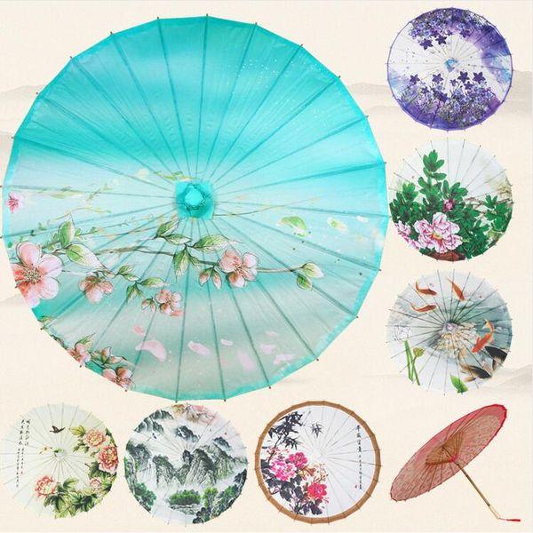 Vintage Paper Umbrella Chinese Classsic Wedding Photo Shoots Parasol Dance Prop