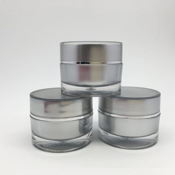 acrylic 5g jar for nail polish , plastic small cosmetic containers with lid , plastic 10g small jars with lids