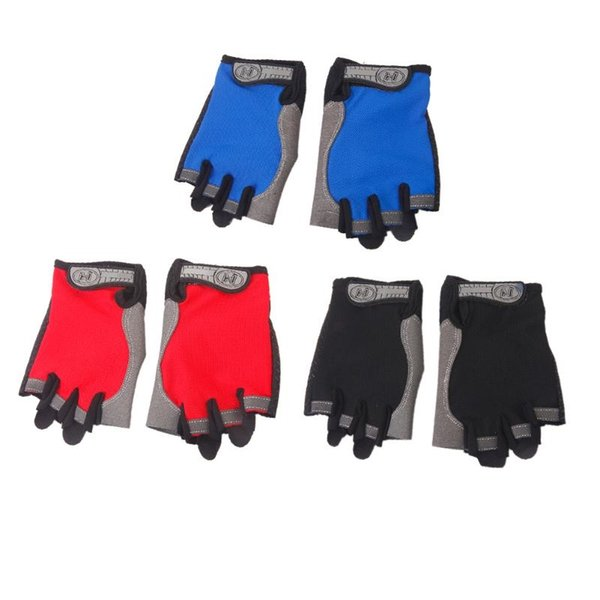 Thin Outdoor Sports Bike Cycling Gloves Anti skid Pad Half Finger Breathable Fitness Gym Climbing Bicycle Gloves For Men Women #286593