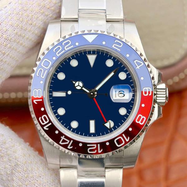 8152dbafb83a Fábrica popular Relojes de lujo a estrenar Mens automática maquinaria  calendario 40 mm reloj de acero inoxidable hombres luminoso negocio  impermeable 50 M