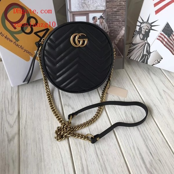 2019 Nuevos bolsos de mano bolsos de Explosión listado bolsos de hombro con encanto Popular clásico suntuoso glamoroso Corazón patrón