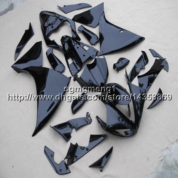 Botls+Custom Matte glossy black ABS motorcycle Fairings for Yamaha YZF-R1 2009-2011 YZFR1 2009 2010 2011 ABS motor Fairing