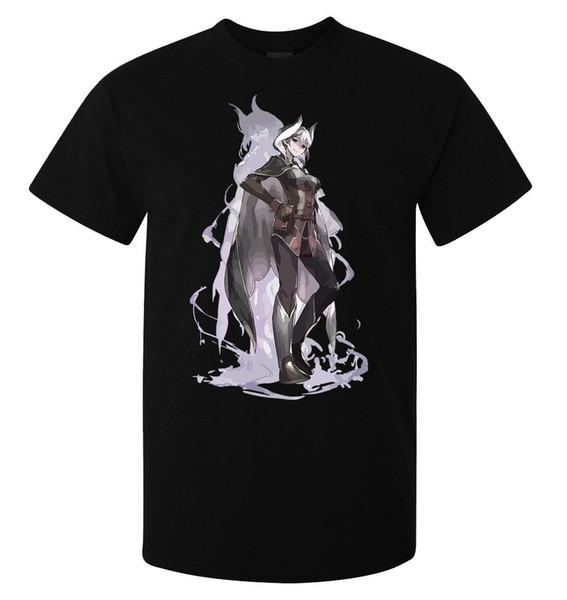 Сделано в Бездне Озен Неподвижная мужская (женская) черная футболка качества Мужчины Женщины Мужская Мода футболка Бесплатная Доставка