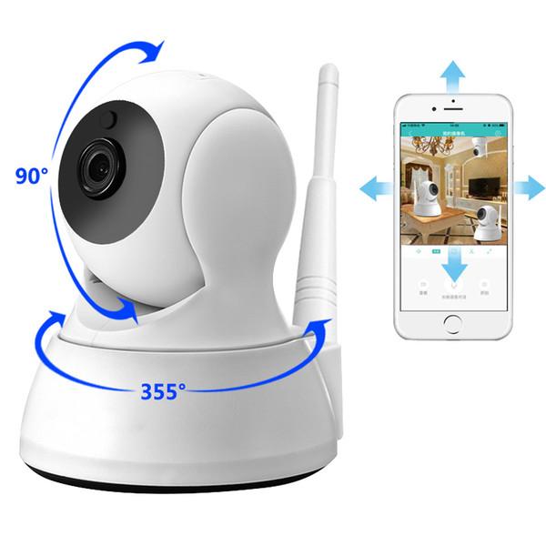 Ip Camera Home Security Two Way Audio Hd 720p Wireless Mini Camera 1mp Night Vision Cctv Wifi Camera Baby Monitor T190705