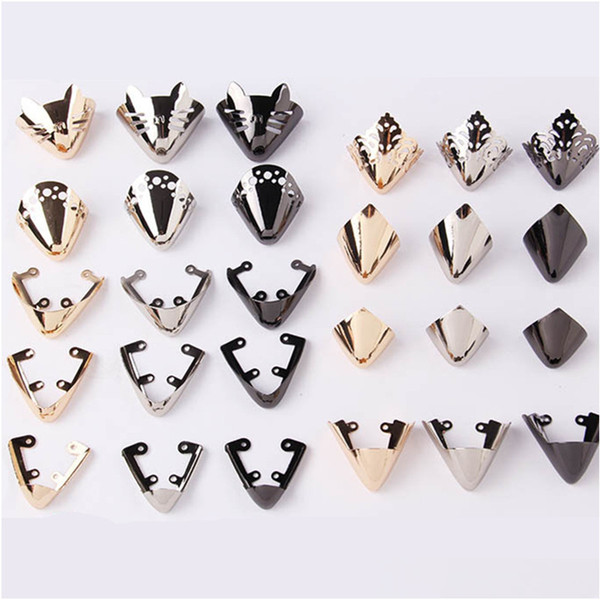 Metal Material Shoes Toe Protection Multicolor Shoes Clips for Decorations High Heels Shoe Broken Repair Accessories
