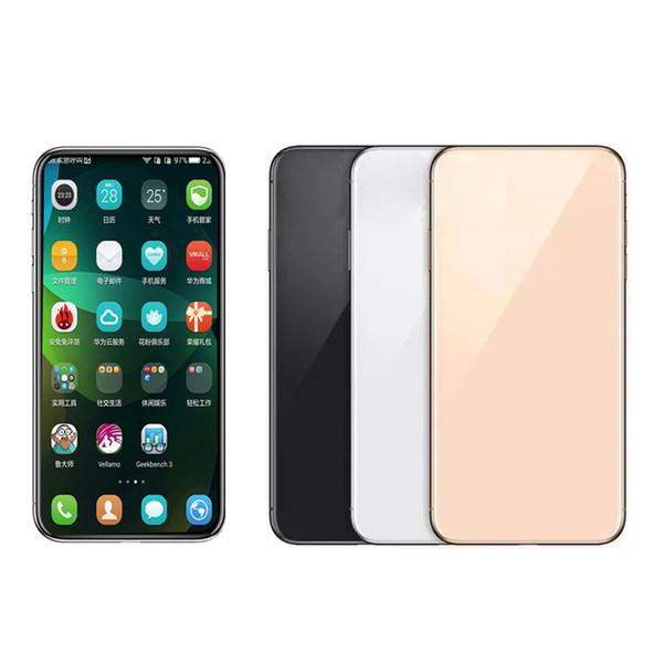 GooPhone Andorid 10 max 11 más 6.5inch 6.1inch 5.8inch cara de soporte Identificación inalámbrica 3G 1gbRAM 16gbROM Mostrar 4G LTE Celular