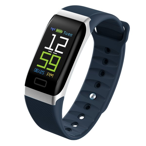 R7 Smart Watch 2018 Blood Pressure Heart Rate Monitor Step Calories Mileage Counting Sleep Tracker Sports Smartwatch Clock IP67
