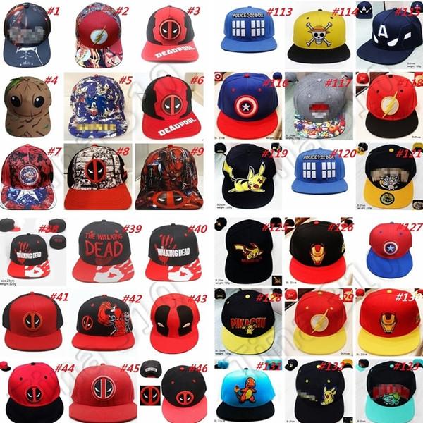 Mode cartoon hüte snapback baseballmützen kinder erwachsene sportkappe mesh baseball hockey sportkappe snapback hüte party hüte 4751
