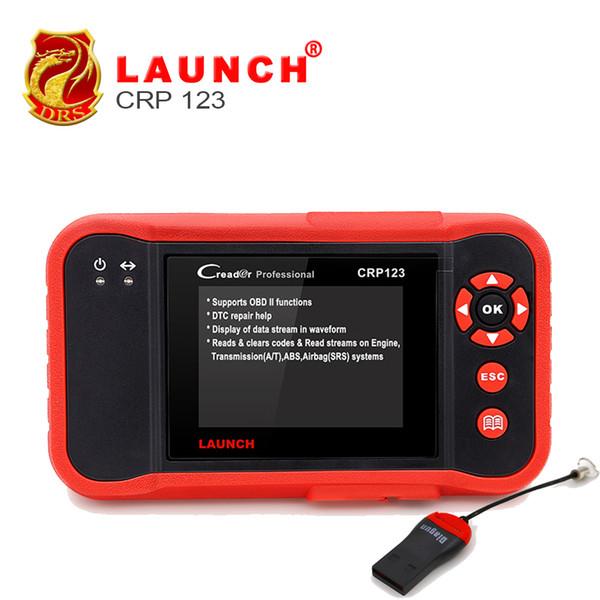 Launch CRP123 Professional Diagnostic Auto code Scanner Global Version for ABS,SRS,Transmission & Engine OBD2 OBDII Code Scanner