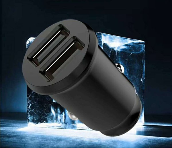 Hotsale Wholesale price Mini USB Car Charger For Mobile Phone Tablet GPS 3.1A 4.8A Fast Car Phone Charger