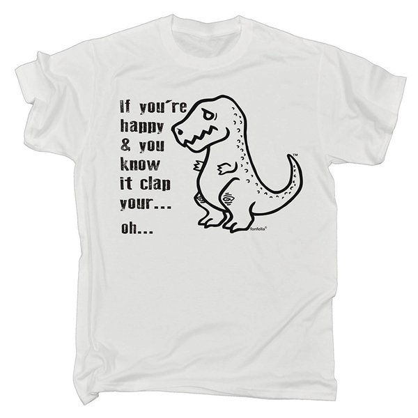 IF You're Happy and You Know IT CLAP Your Hands - Loose Fit T-Shirt