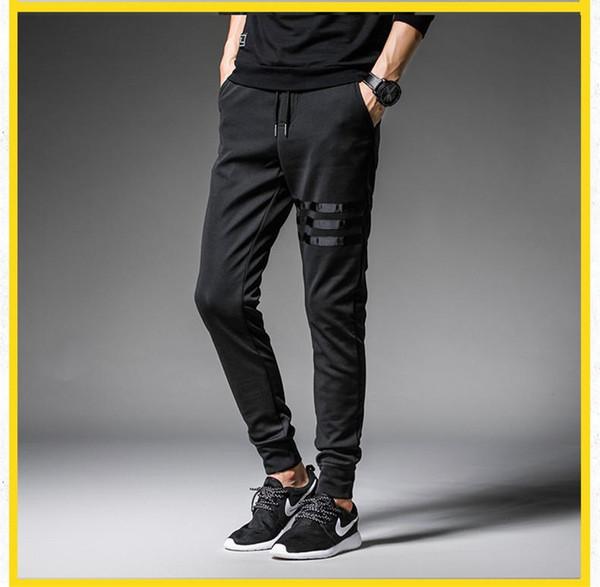 Acheter Trois Ligne Pantalons De Sport Printemps