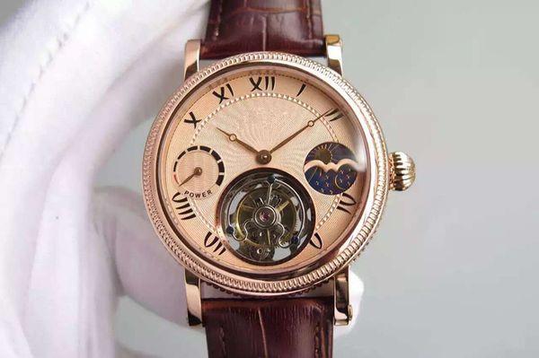BM mens montres de luxe noyau volant en acier watch316 de luxe 42mm montres de luxe profondeur et étanche à l'eau transparent