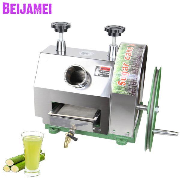 BEIJAMEI Wholesale Produkte manuelle Zuckerrohr Entsafter kommerzielles Zuckerrohr, das kleine Zuckerrohrsaftherstellungsmaschine zerquetscht
