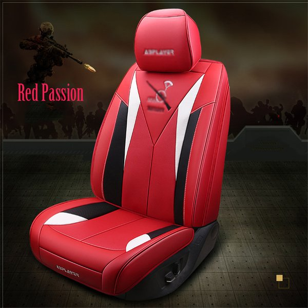 Terrific Brand New Luxury Microfiber Leather Full Set Front Rear Car Suv Seat Covers Red Racing Sport Automotive Seat Covers Babies Car Seat Covers From Andrewgaddart Wooden Chair Designs For Living Room Andrewgaddartcom
