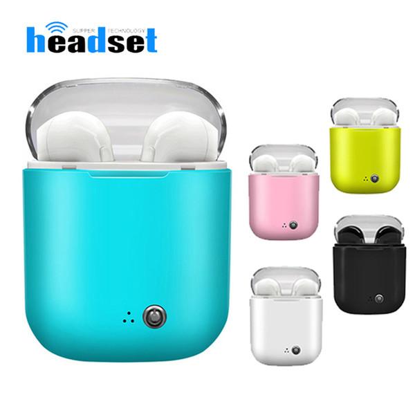 I7S TWS Wireless Bluetooth-Kopfhörer Ohrhörer Kopfhörer mit Ladebox Twins Mini Bluetooth-Ohrhörer für Smartphones