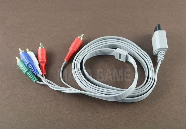 1.8m Componente 1080P HDTV AV Audio 5RCA Cable adaptador Cable Cable para consola Wii