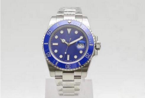 U1 Fábrica Hot Relógios De Pulso De Safira Preto Cerâmica Bezel Aço Inoxidável 40mm 116610LN 116610 Automático Mecânico Mens Mens Watch M0078