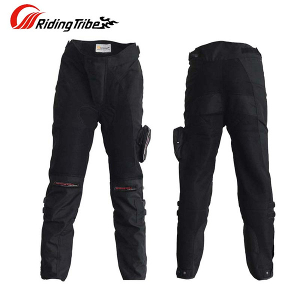 SUMMER Riding Tribe HP02 мотоциклетные штаны с бронежилетом, вентилируемые Mesh Fabric Мотокроссовые брюки до колен M L XL XXL XXXL