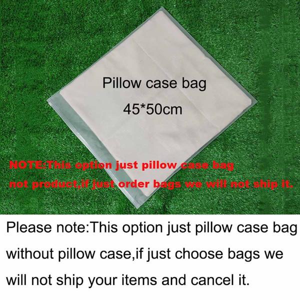 bolsa de funda de almohada (justo bolsa para que no se entregue)