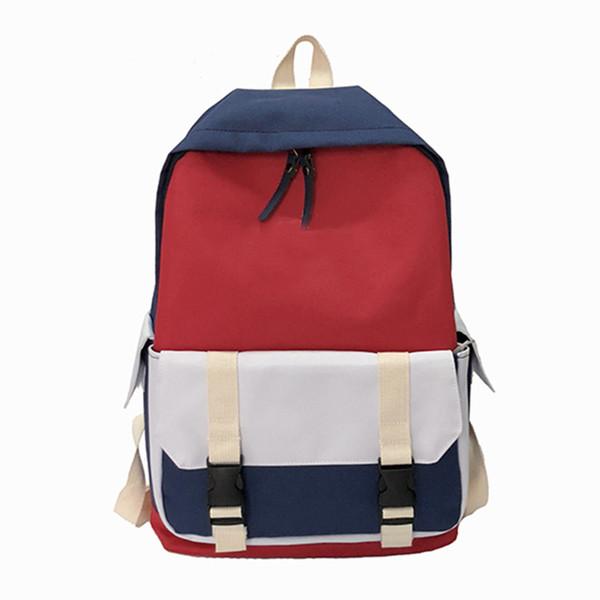 19ss Berühmte Marke Neue Designer Rucksack Luxus Doppel Umhängetaschen Männer Frauen Einstellbar Casual Outdoor Reisetasche Schultasche