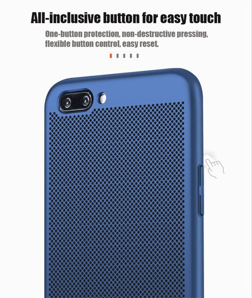 Custodie In Silicone Vendita All\'ingrosso Scrub Traspirante Raffreddamento  Cassa Del Telefono Mobile Cassa Del Telefono Anti Caduta OPPO R7 R7S R9 R9  ...