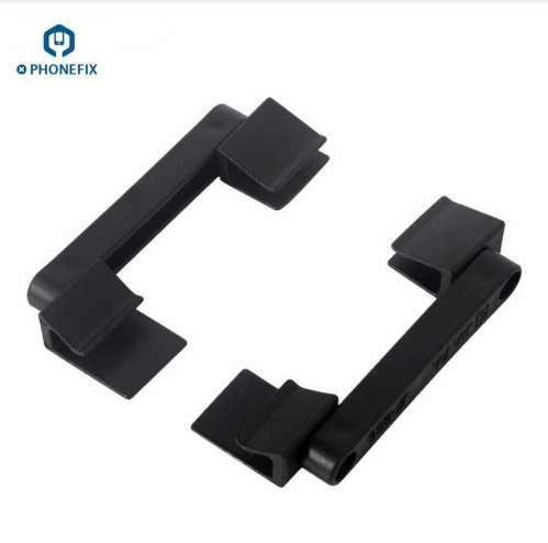 PHONEFIX 2Pcs Plastic Universal Mobile Phone Repair Holder LCD Screen Fastening Fixture Clamp Clip for iPhone iPad Repair Tool