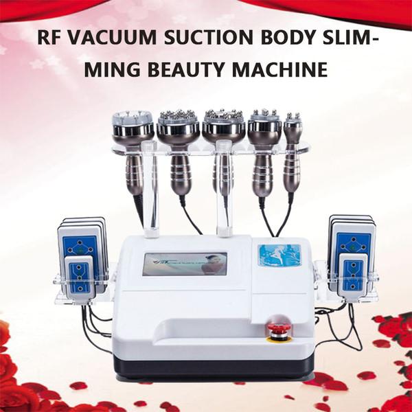 Vendita calda 6 in1 40K laser a liposuzione cavitazione ad ultrasuoni radiofrequenza vuoto cellulite rimozione rimozione corpo dimagrante macchina di bellezza