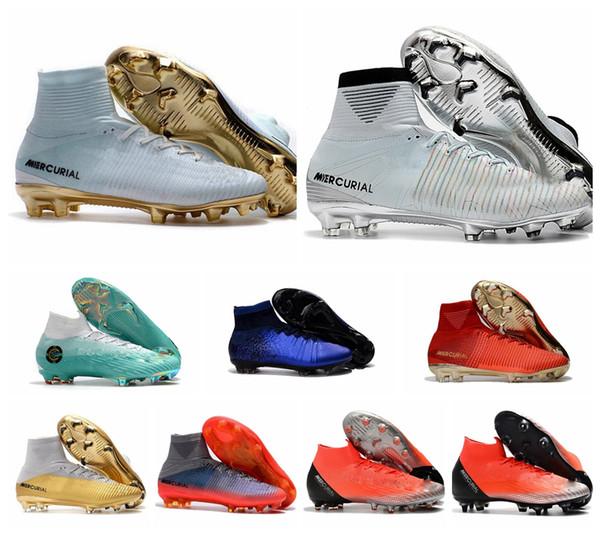 Las botas y zapatillas de Cristiano Ronaldo para niños Nike