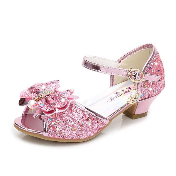 Pink Princess Sandals