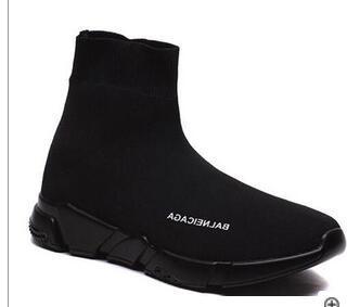 F17 2020 ESTRELLAS ama los zapatos casuales de la moda de los amantes respirables elástico de tela unisex de bota zapatos deportivos Zapatillas Formadores Pisos 36-45
