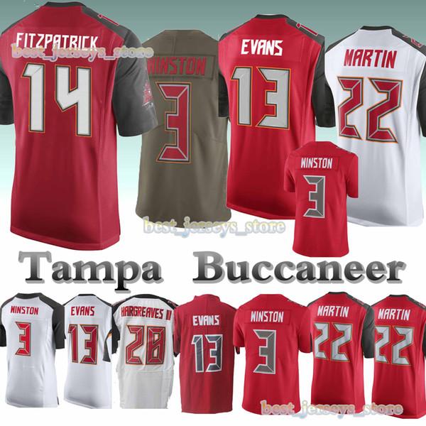 c6eb0de6 2019 Tampa Jerseys Buccaneer 14 Ryan Fitzpatrick 13 Mike Evans 3 Jameis  Winston 22 Doug Martin Free Shopping Jersey 2019 From Best_jerseys_store,  ...
