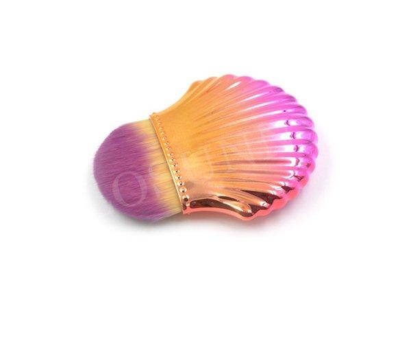 Золото-розовый круглый