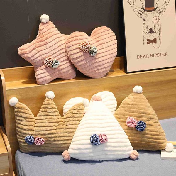 Luna Cuore Cuscino decorativo per Divano, Sedia Kids Room Decor morbido tiro peluche Cuscini